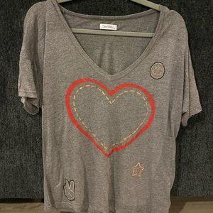 lauren moshi tshirt size small